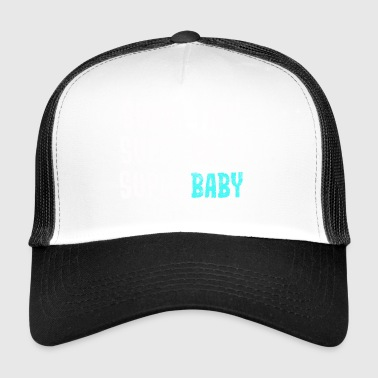 Super klein - super cute - super baby - blauw - Trucker Cap