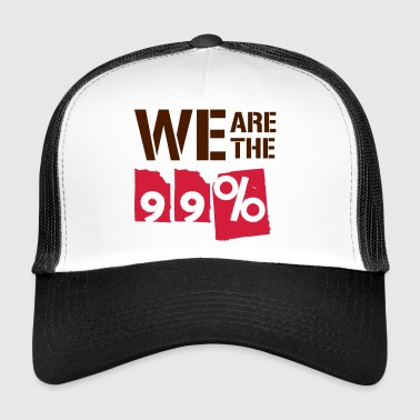 We are the 99 percent - Trucker Cap