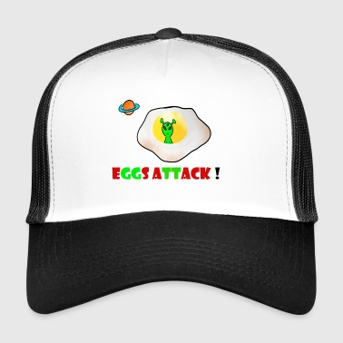 Eggs attack - Trucker Cap