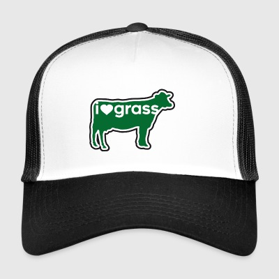 I love grass - Trucker Cap