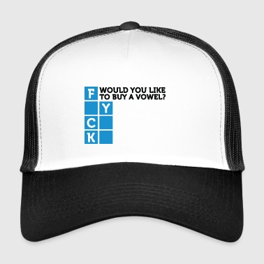 Would You Like To Buy A Vowel? - Trucker Cap