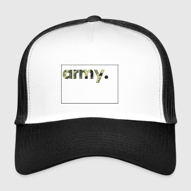 Army Camouflage - Trucker Cap