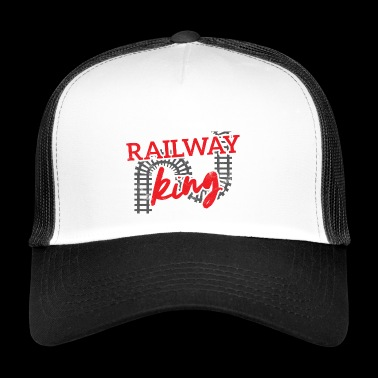 Train driver, train conductor, railway, subway, ICE, train - Trucker Cap