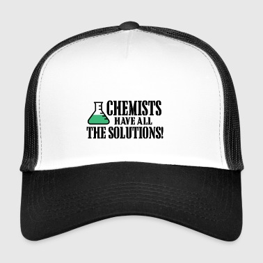 Chemists have all the solutions - Trucker Cap