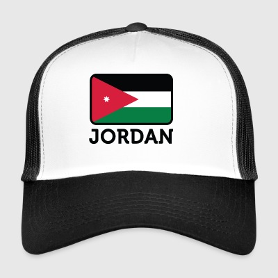 National Flag Of Jordan - Trucker Cap