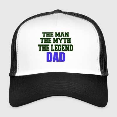 the man the myth the legend - Trucker Cap