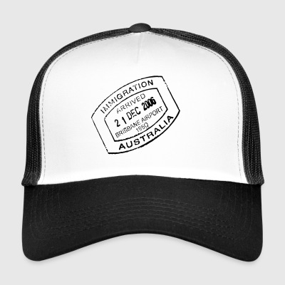 Travel stamp - Trucker Cap