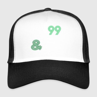 99 problems but protein protein is not vegan - Trucker Cap