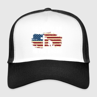 Hymne national USA cadeau de Noël fierté - Trucker Cap