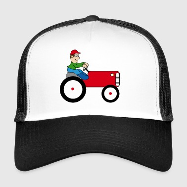 Tractor | Towing truck Trecker | Bulldog | farmer - Trucker Cap