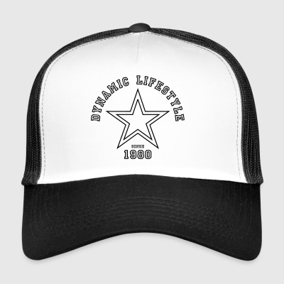 Dynamic Lifestyle 1980 - Trucker Cap