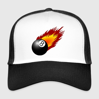 billiard ball - Trucker Cap