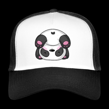 Sporty Cartoon Panda - Trucker Cap