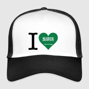 I Love Saudi Arabia - Trucker Cap