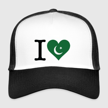 I Love Pakistan - Trucker Cap