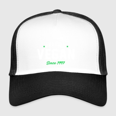 Vegan proud since 1997 proud vegan - Trucker Cap