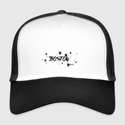 Boston # 3d - Gorra de camionero