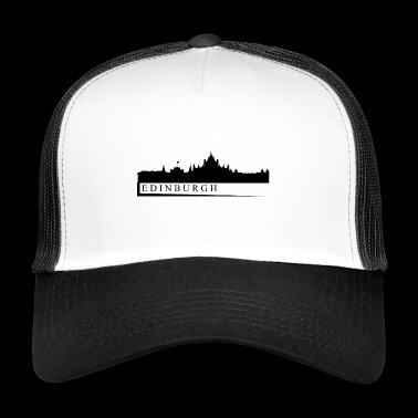 skyline edimburgo - Trucker Cap