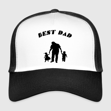 best dad - Trucker Cap