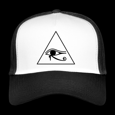 Eye of Horus Illuminati Gift Gift idea - Trucker Cap