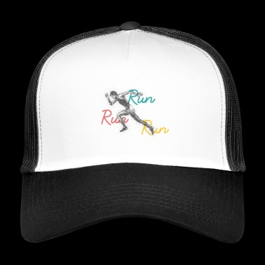 Run Run Run - Trucker Cap