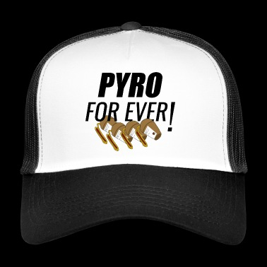 Pyro For Ever Shell - Trucker Cap