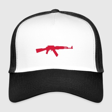 AK-47 Assault Rifle - Trucker Cap