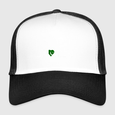 i love home heimat Pakistan - Trucker Cap