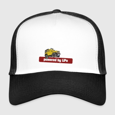 Powered by LiPo - Trucker Cap