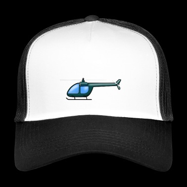 Helicopter dark green - Trucker Cap
