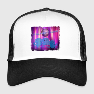 Party Owl > Owl Night Long > Funny Owls - Trucker Cap
