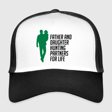 Father And Daughter Hunting Partners - Trucker Cap