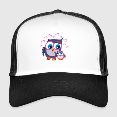 10-31 OWLS - DOGS - Trucker Cap