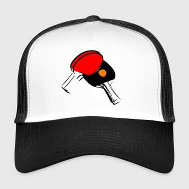 tennis de table de ping pong ping-pong bat8 - Trucker Cap