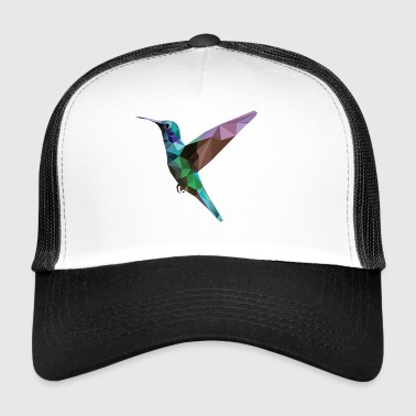 Colorful Hummingbird - Trucker Cap