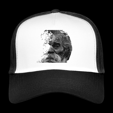 Old man grandpa beard - Trucker Cap