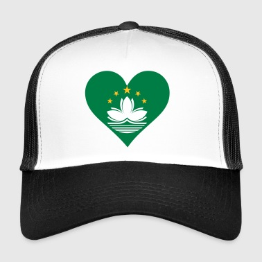 A Heart For Macau - Trucker Cap