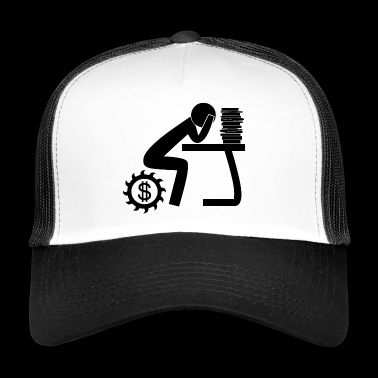work blak - Trucker Cap