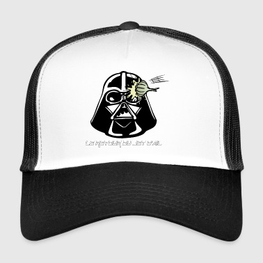 Back jet of garlic jedi - Trucker Cap