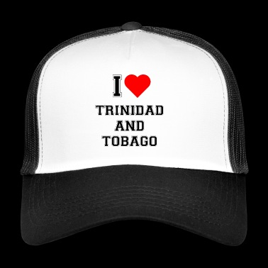 I love Trinidad and Tobago - Trucker Cap