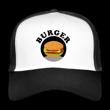 Burger BBQ Foodie Food Gift Gift Idea - Trucker Cap