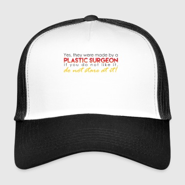 Funny Plastic Surgeon - Trucker Cap