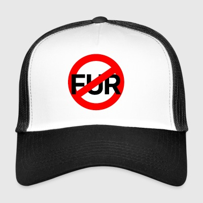 Anti Fur T-Shirt - Trucker Cap