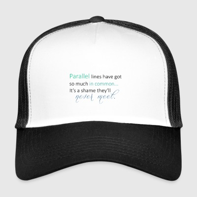 Parallel Lines 2 - Trucker Cap