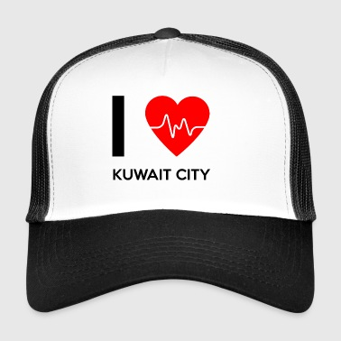 I Love Kuwait City - I love Kuwait City - Trucker Cap