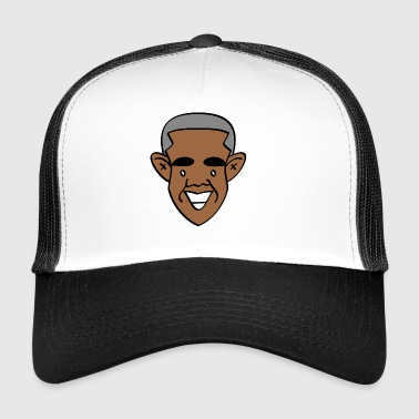 Merci, Obama! - Trucker Cap