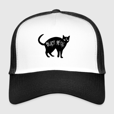 Cat Black Metal - Black Metal Cat - Trucker Cap