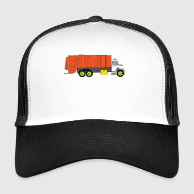 garbage collection - Trucker Cap