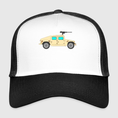 Military vehicle - Trucker Cap