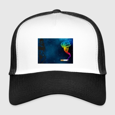 girl galaxy - Trucker Cap